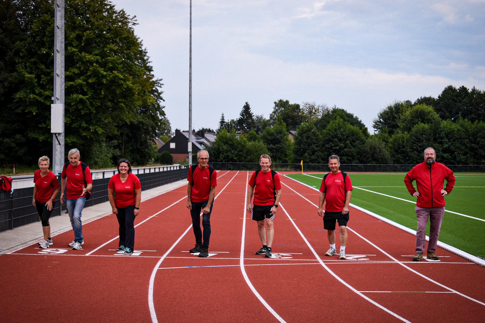 Umzug auf die neue Sportanlage an der Wasserwerkstraße